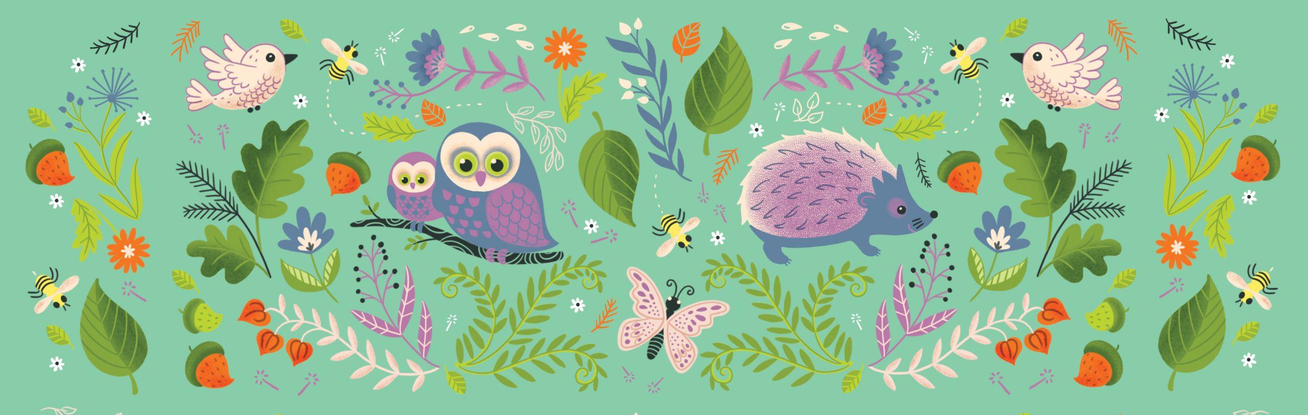 Illustration par Isabelle Charbonneau pour une boite de mouchoir de la marque Sélection, par l'agence Pigeon Brands